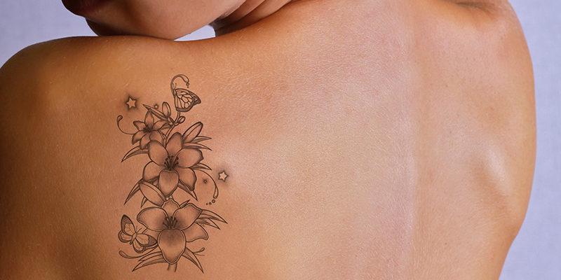 Tατουάζ και αφαίρεση με Laser.