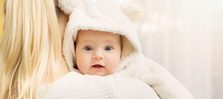 Φροντίστε το δέρμα του μωρού σας τον χειμώνα.